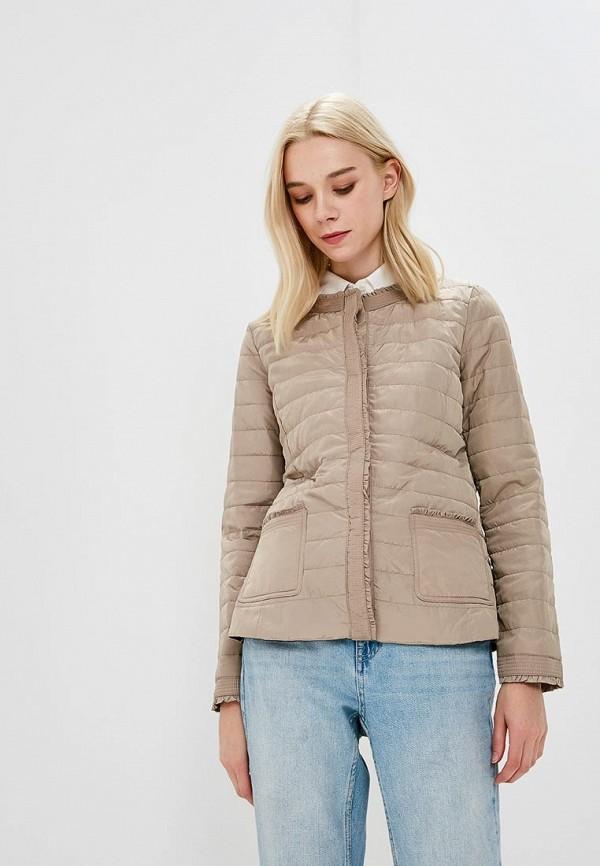 Купить Куртка утепленная Iwie, iw001ewbiaf1, бежевый, Весна-лето 2018