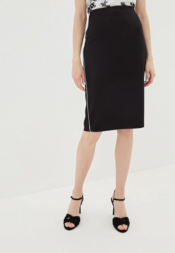 женская прямые юбка iwie, черная