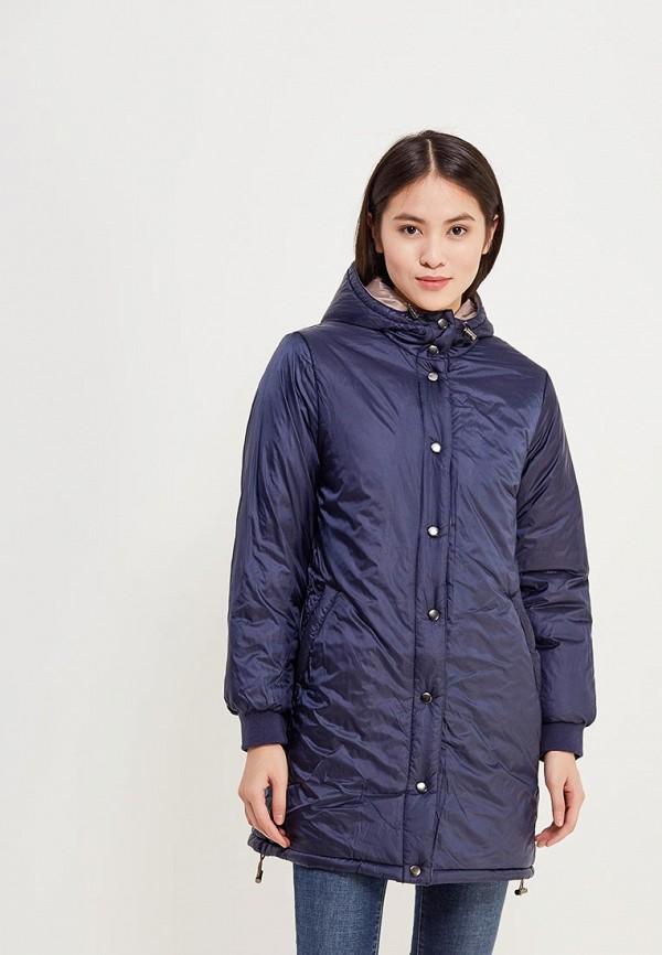 Фото - Куртку утепленная Iwie синего цвета