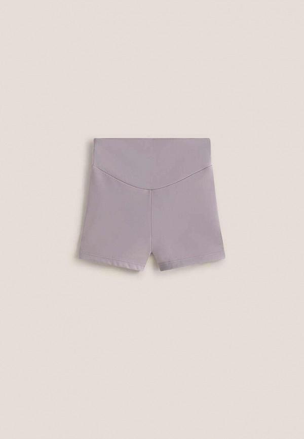 Шорты для девочки спортивные Oysho цвет фиолетовый