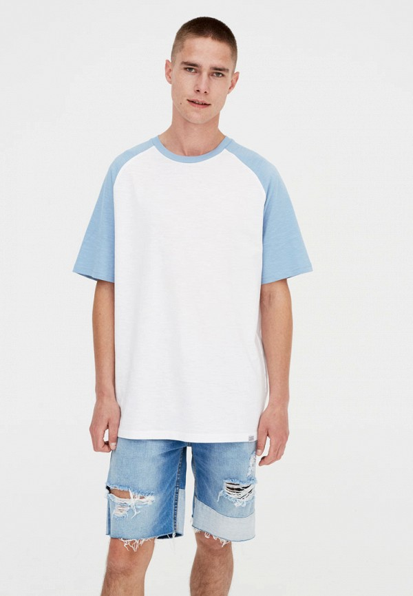 Футболка Pull&Bear Pull&Bear IX001XM000IB удочка зимняя swd ice bear 60 см