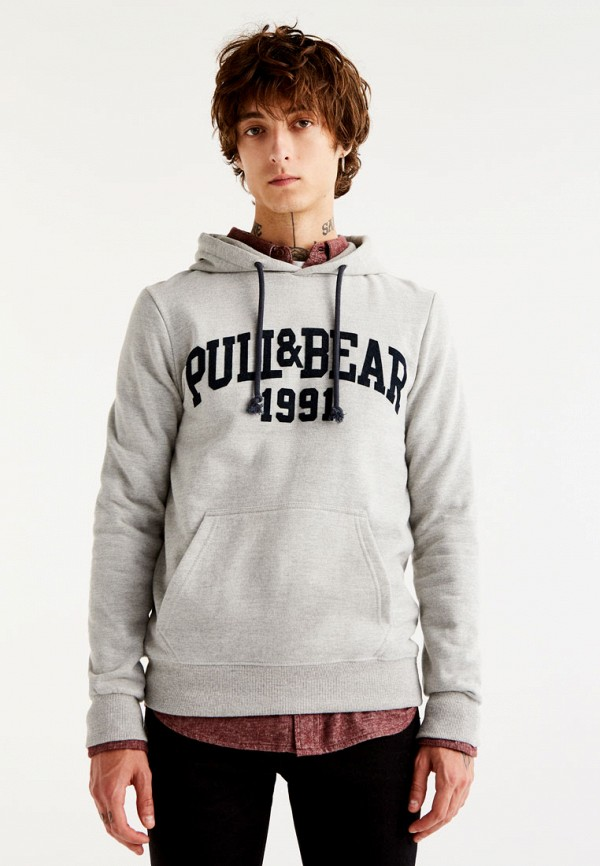 Худи Pull&Bear Pull&Bear IX001XM000JD худи print bar fall out boy