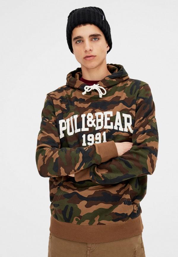 Худи Pull&Bear Pull&Bear IX001XM000TK худи print bar skull
