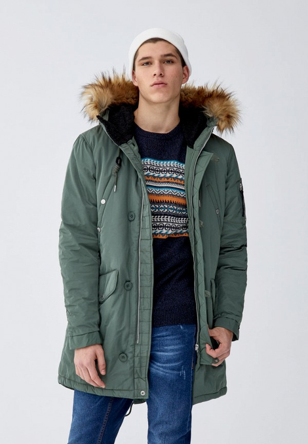 Парка Pull&Bear Pull&Bear IX001XM000XM удочка зимняя swd ice bear 60 см