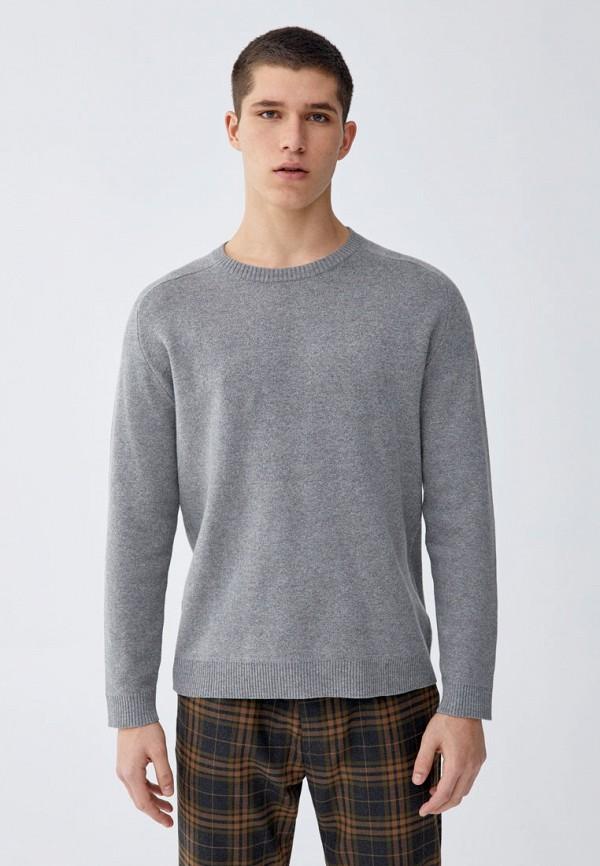 Джемпер  серый цвета