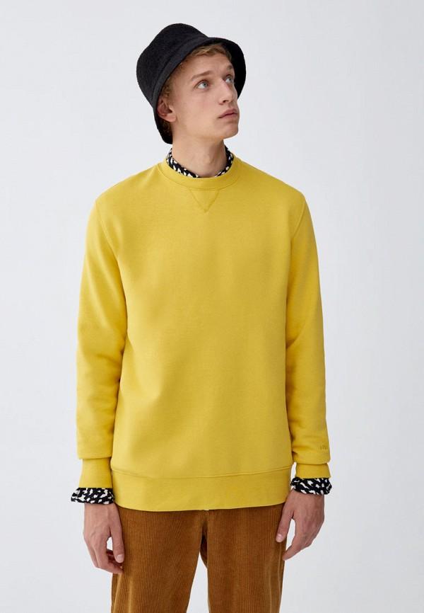 Купить Свитшот Pull&Bear, ix001xm0013g, желтый, Осень-зима 2018/2019