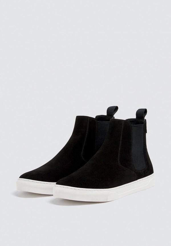 Купить Ботинки Pull&Bear, ix001xm0016w, черный, Осень-зима 2018/2019