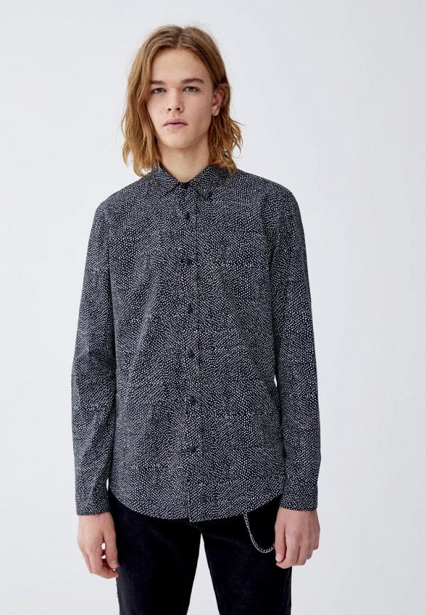 Рубашка Pull&Bear Pull&Bear IX001XM001AL цена 2017
