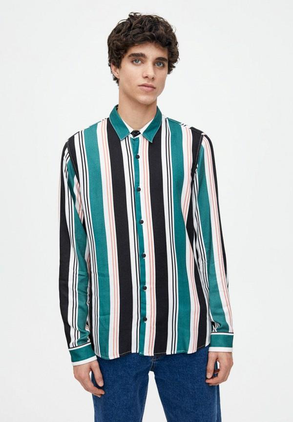 Рубашка Pull&Bear Pull&Bear IX001XM001AP цена 2017
