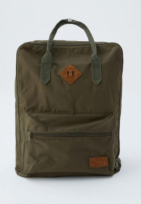 Рюкзак Pull&Bear Pull&Bear IX001XM001BI рюкзак pull