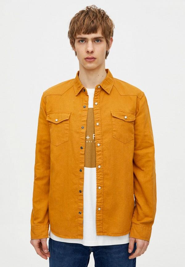 Солнцезащитные очки  оранжевый цвета