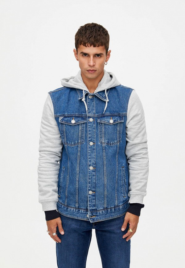 Фото - Куртка джинсовая Pull&Bear Pull&Bear IX001XM001JC удочка зимняя swd ice bear 60 см