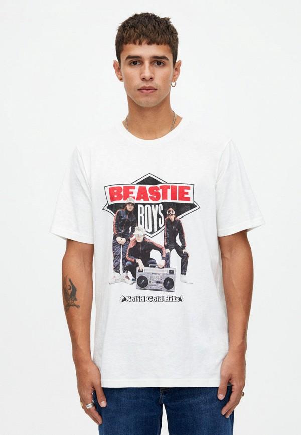 Футболка Pull&Bear Pull&Bear IX001XM001L7 happy bear футболка