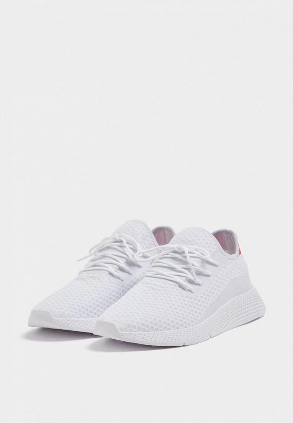 мужские кроссовки pull&bear, белые