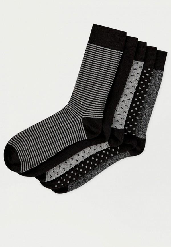 Носки  серый, черный цвета