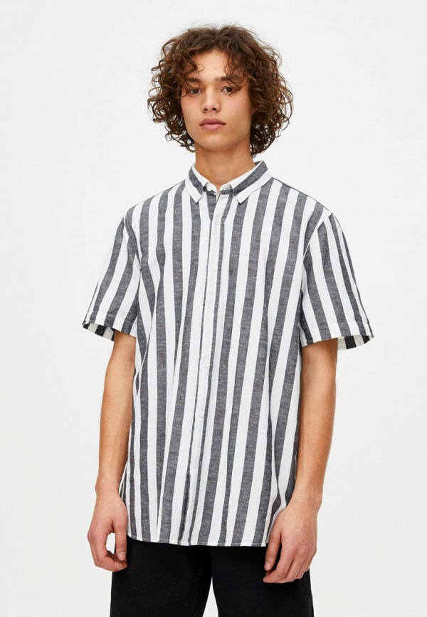 Рубашка Pull&Bear Pull&Bear IX001XM002UK рубашка pull