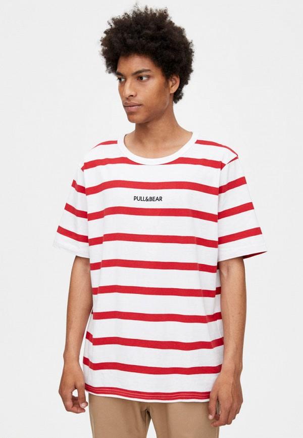 Футболка Pull&Bear Pull&Bear IX001XM003AB футболка pull