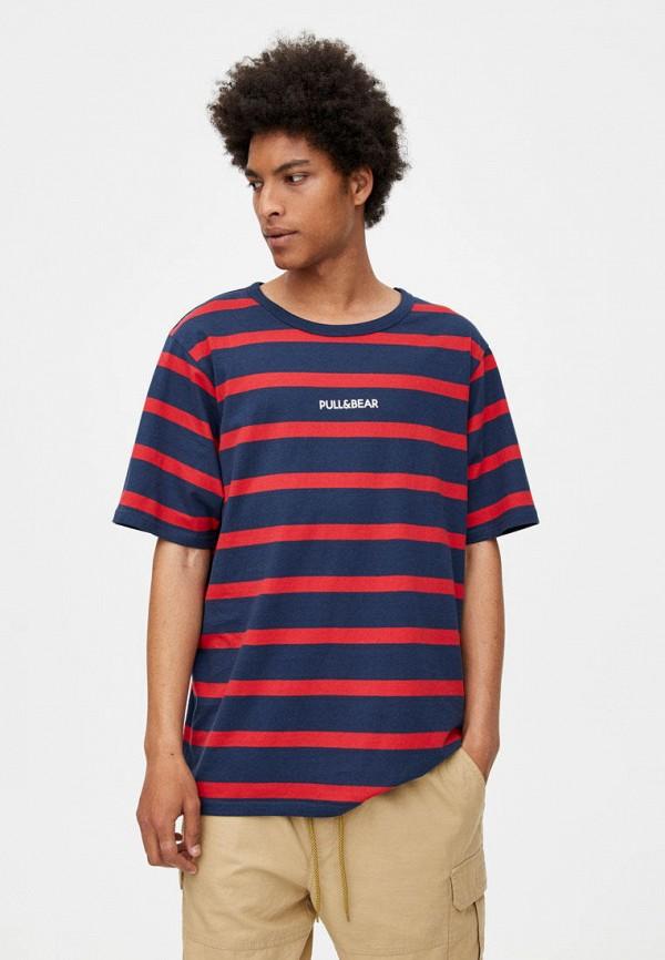 Футболка Pull&Bear Pull&Bear IX001XM003AE футболка pull