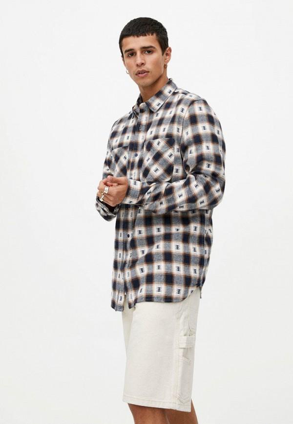 Рубашка Pull&Bear Pull&Bear IX001XM003AS рубашка pull