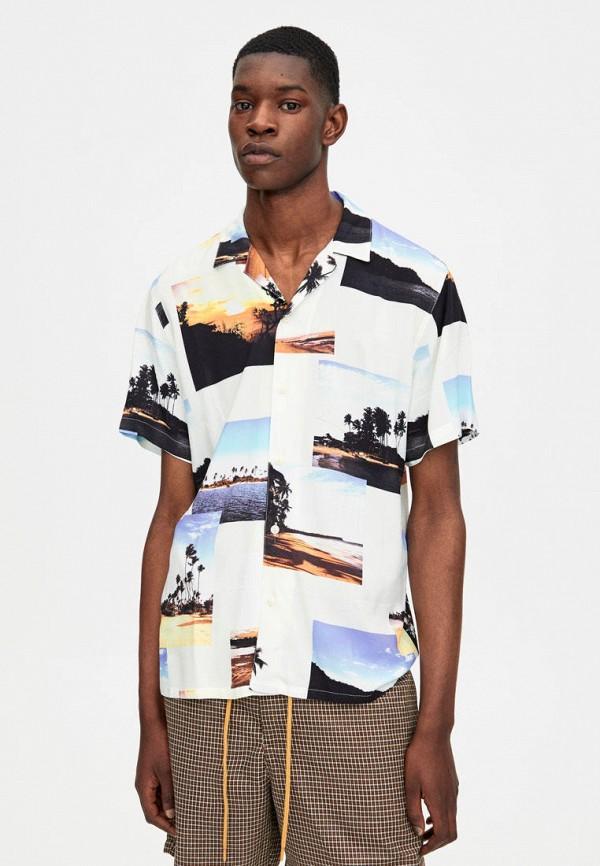 Рубашка Pull&Bear Pull&Bear IX001XM003BF рубашка pull