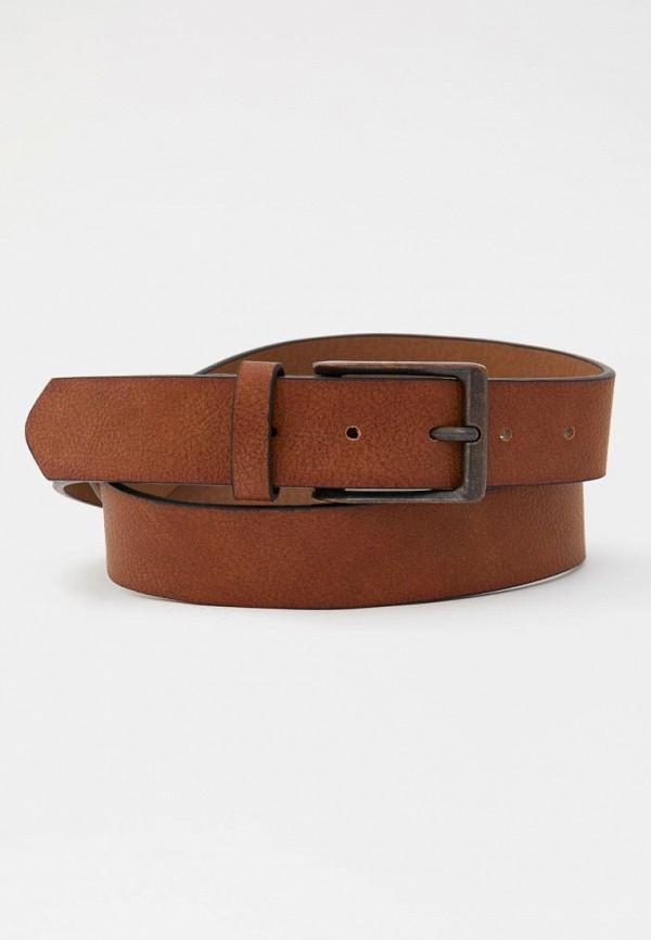 Фото - Пояс Pull&Bear коричневого цвета