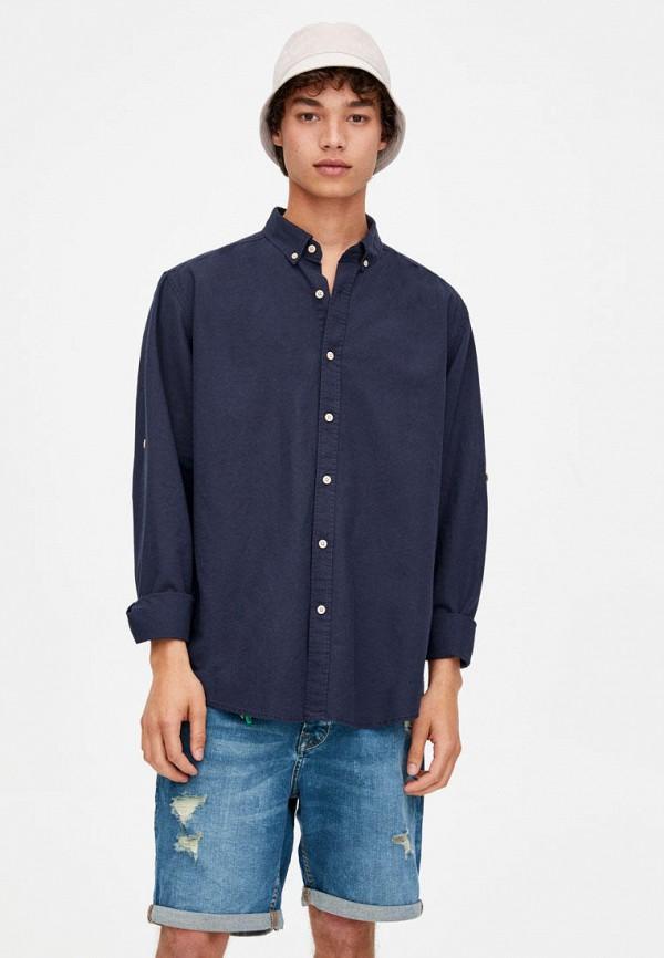 Рубашка Pull&Bear Pull&Bear IX001XM003DB рубашка pull