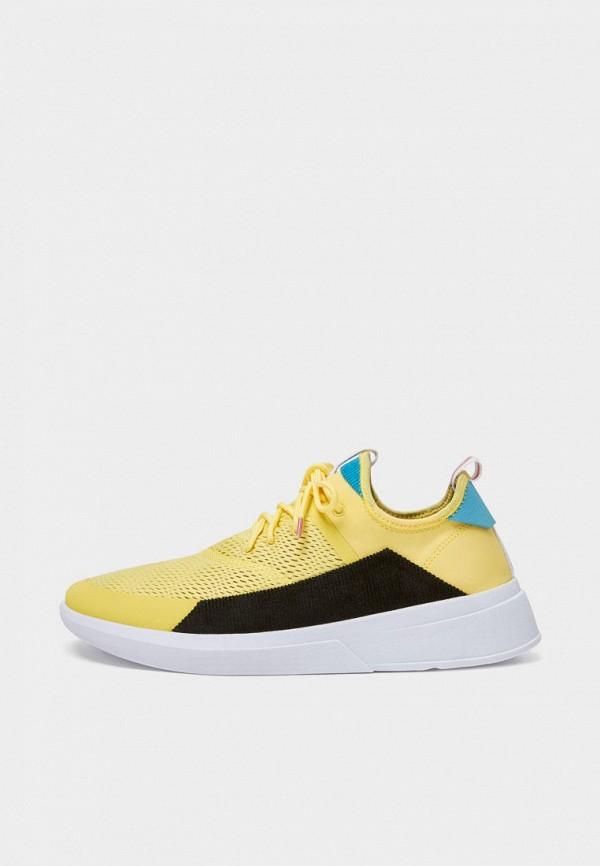 мужские кроссовки pull & bear, желтые