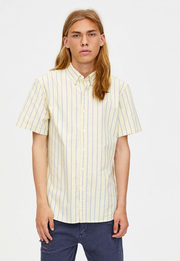 Рубашка Pull&Bear Pull&Bear IX001XM003ET рубашка pull