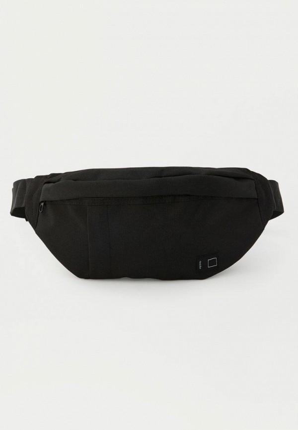 мужская сумка pull & bear, черная