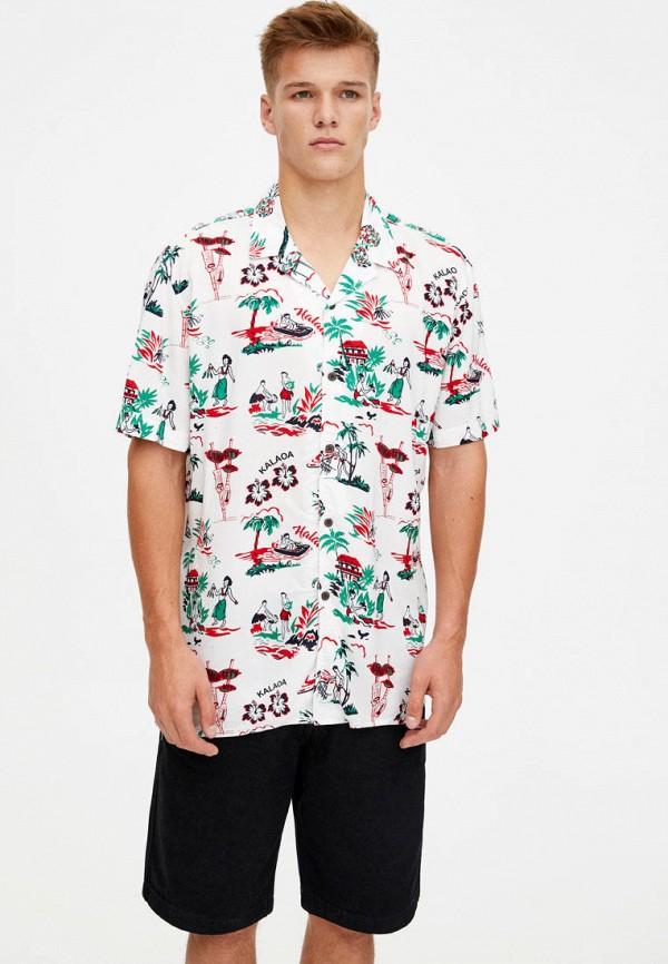 Рубашка Pull&Bear Pull&Bear IX001XM003IV рубашка pull