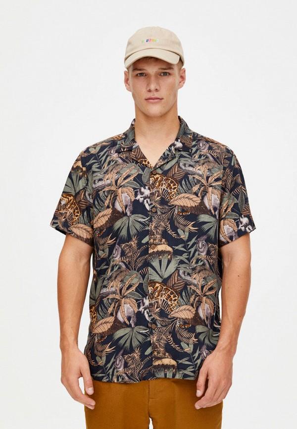 Рубашка Pull&Bear Pull&Bear IX001XM003J2 рубашка pull