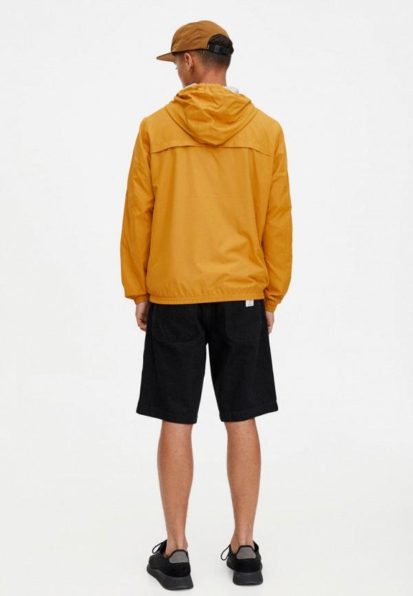 Фото 3 - Ветровка Pull&Bear желтого цвета