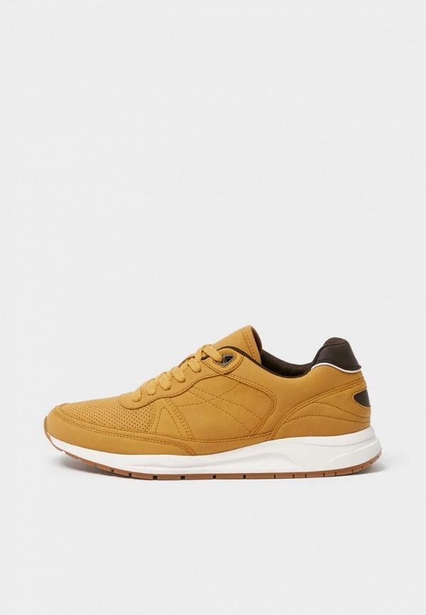 мужские кроссовки pull & bear, коричневые