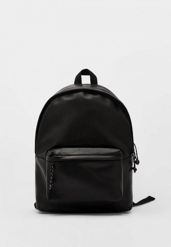 мужской рюкзак bershka, черный