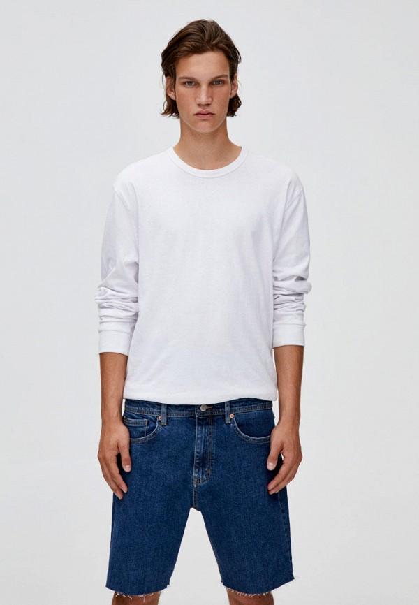 мужские шорты pull & bear, синие