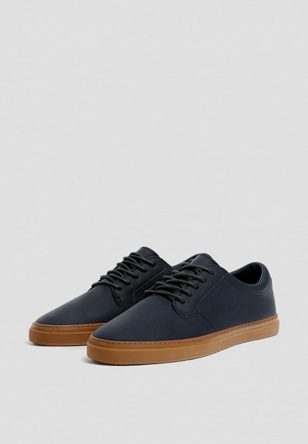 мужские туфли pull & bear, синие