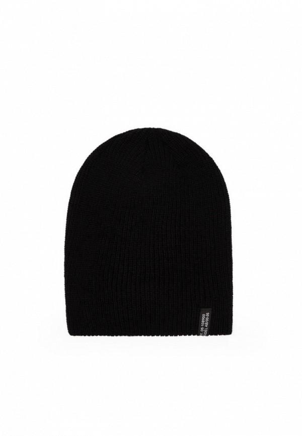 мужская шапка bershka, черная