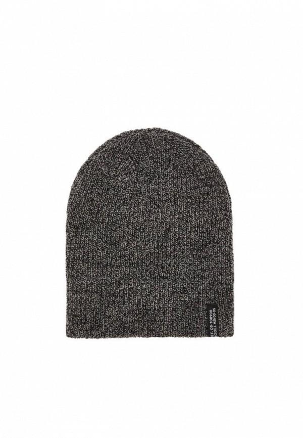мужская шапка bershka, серая