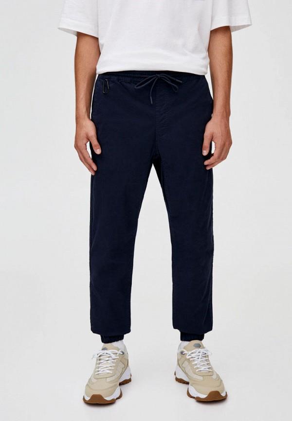 мужские брюки pull & bear, синие