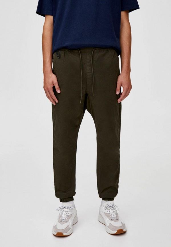 мужские брюки pull & bear, хаки