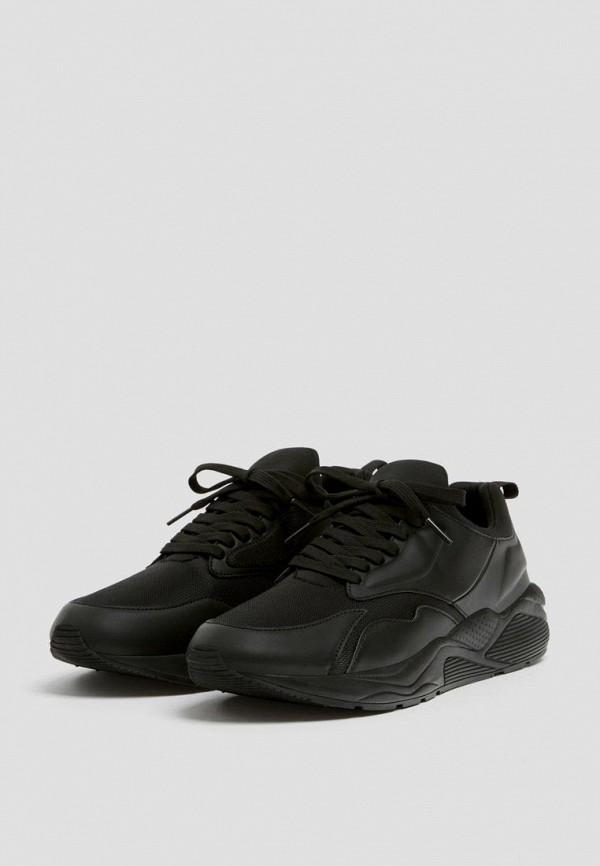 мужские кроссовки pull & bear, черные