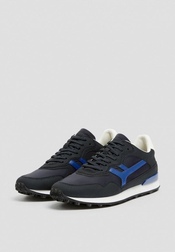 мужские кроссовки pull & bear, синие