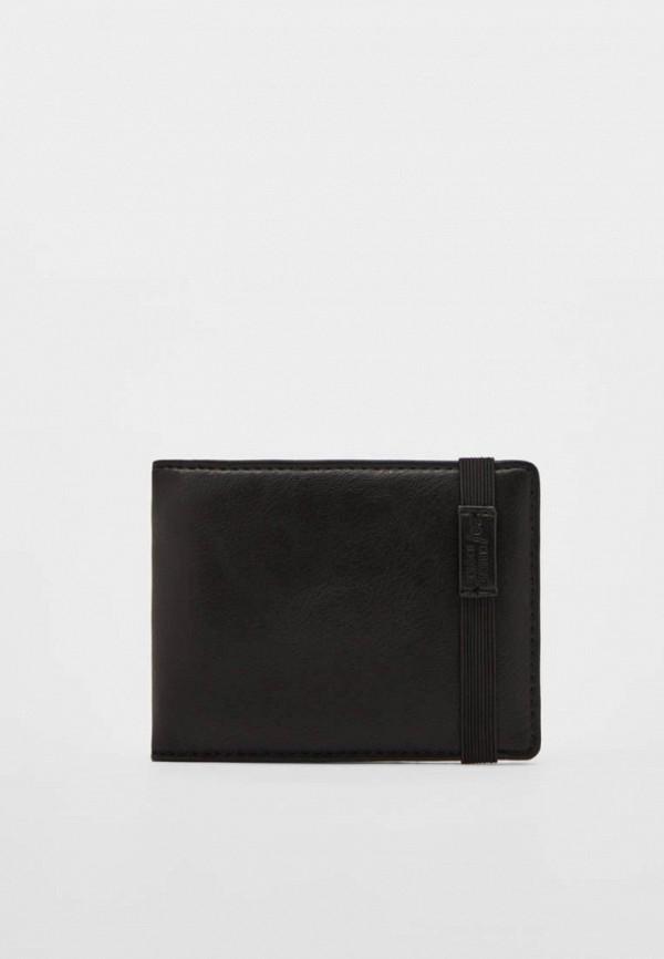 мужской кошелёк bershka, черный