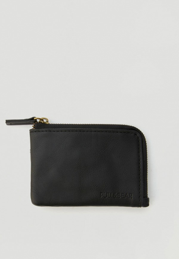 мужской кошелёк pull & bear, черный
