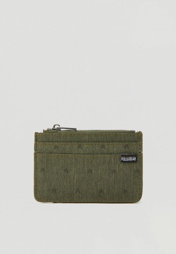 мужской кошелёк pull & bear, хаки