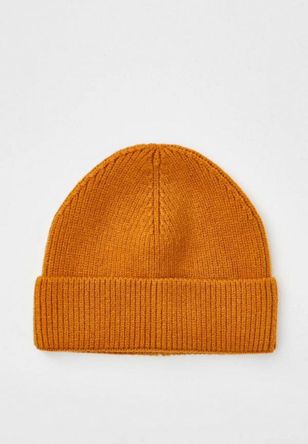 мужская шапка pull & bear, оранжевая