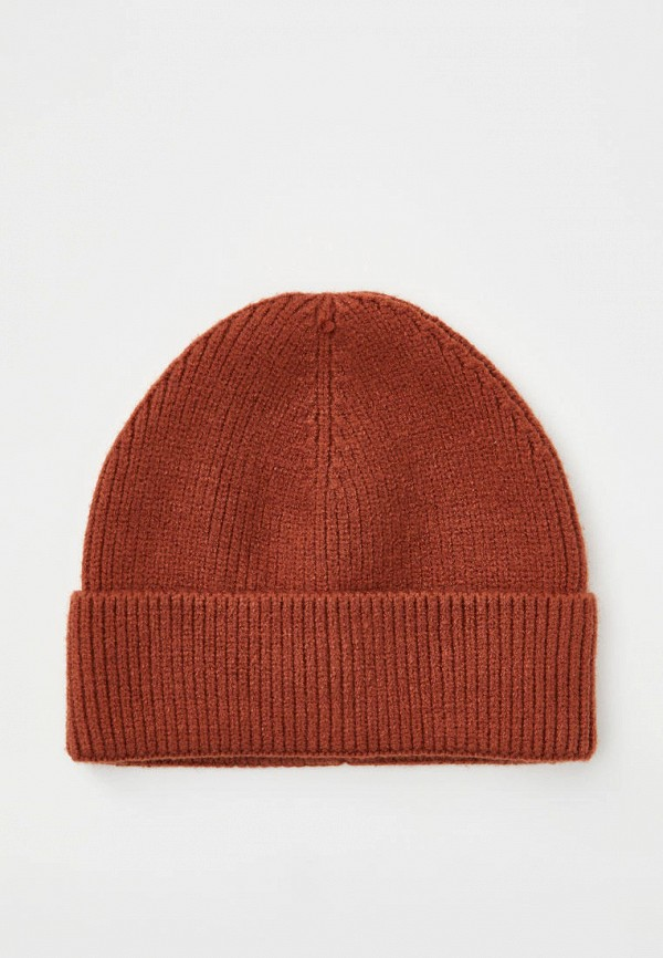 мужская шапка pull & bear, коричневая