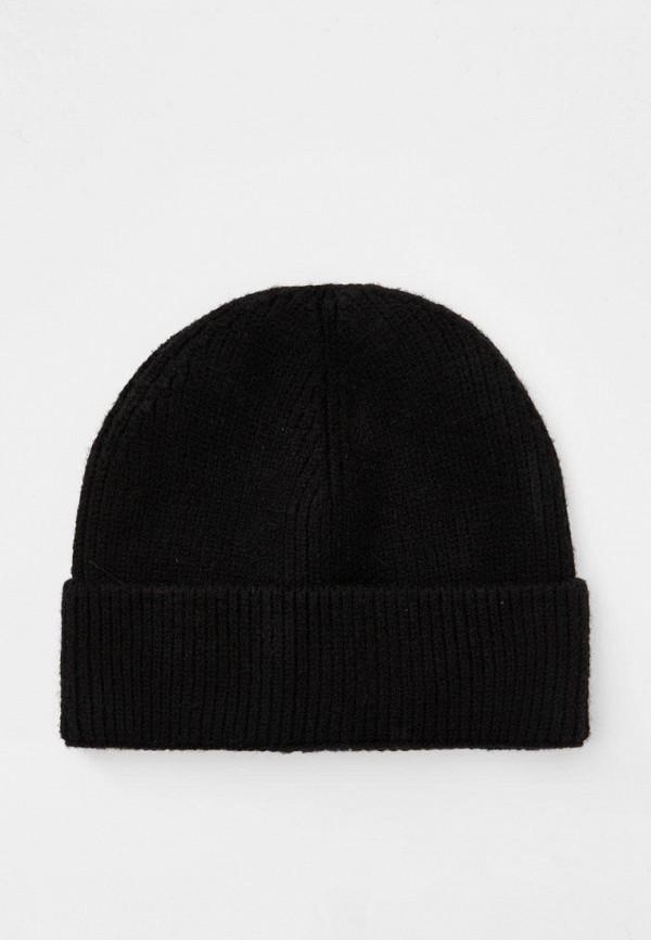 мужская шапка pull & bear, черная