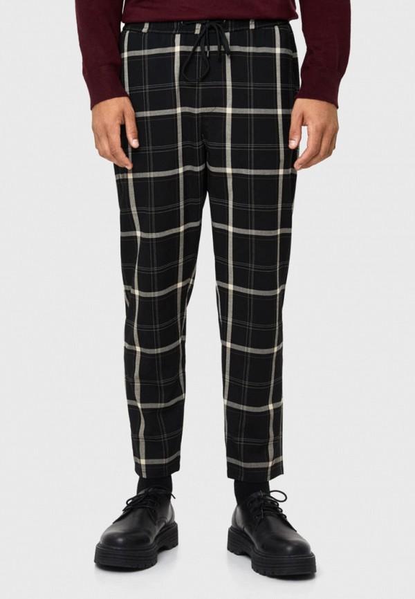 мужские повседневные брюки bershka, черные