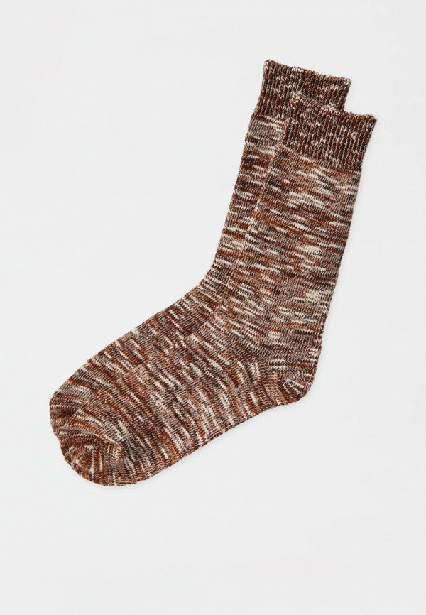 мужские носки pull & bear, коричневые